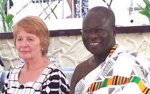 Jean and Nana Edusei