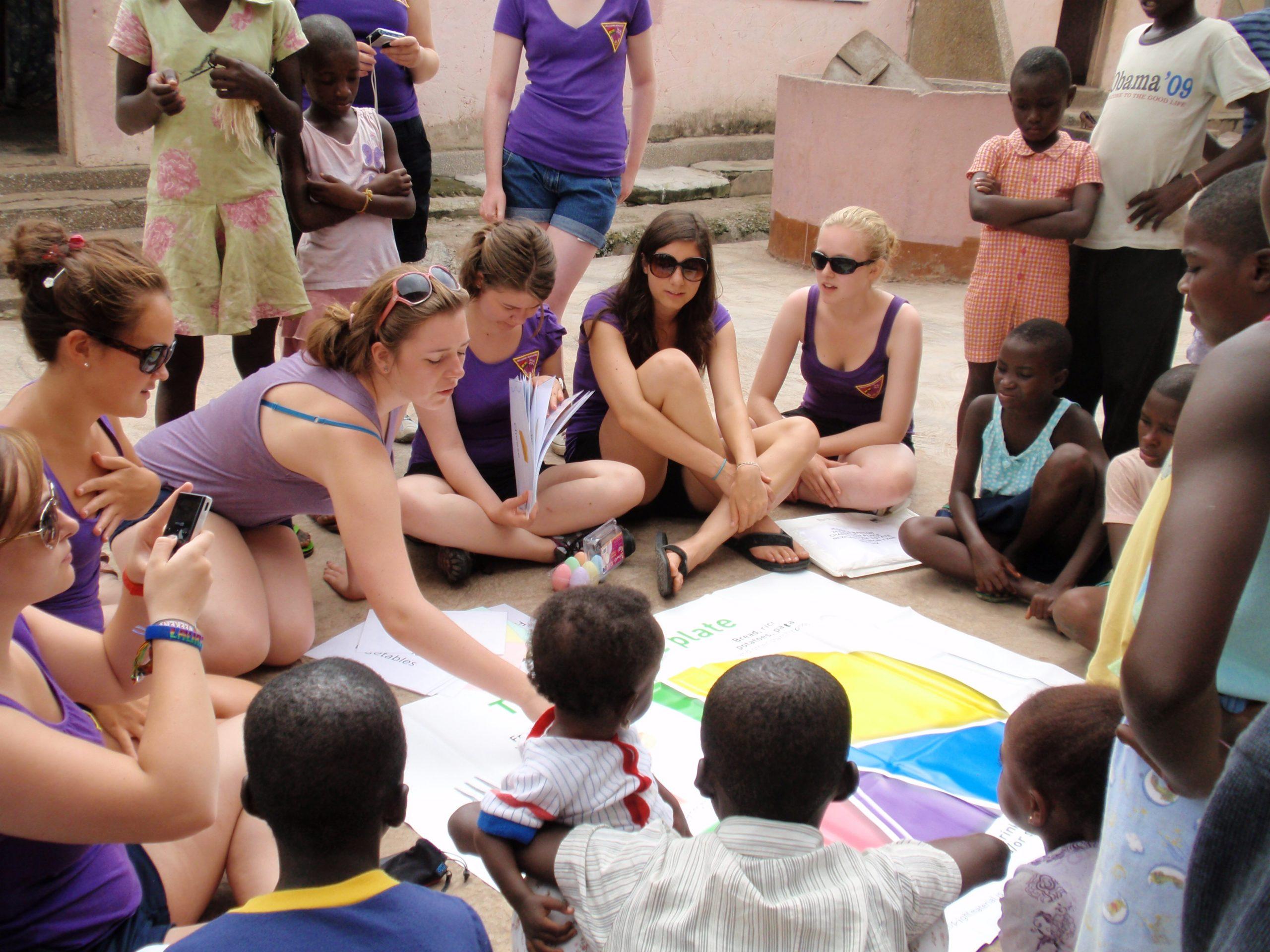 Girl Guides teach healthy eating